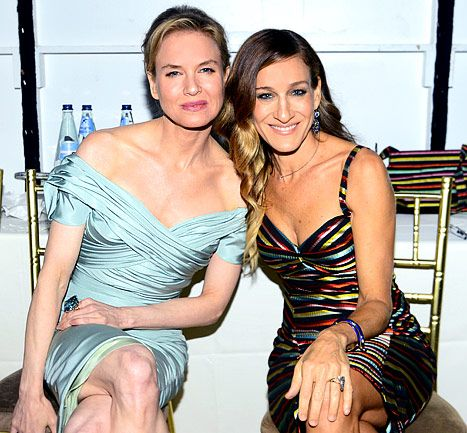 Renee Zellweger and SJP