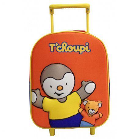 Sac à dos à Roulettes T'Choupi - Tchoupi maternelle