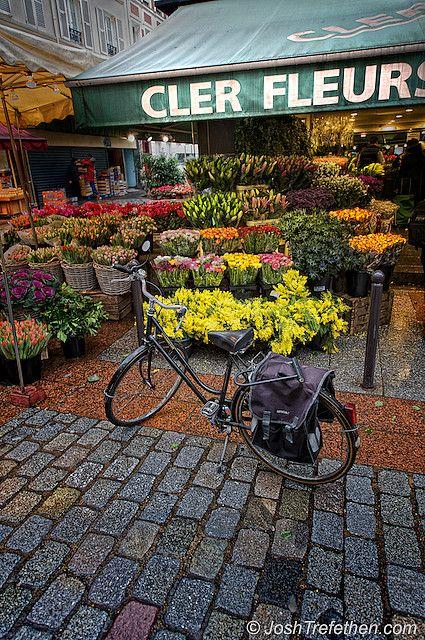Cler Fleurs, Ile de France, Paris this was the flower shop near my hotel on the Rue Cler! AHHH! so amazing! (CW20)