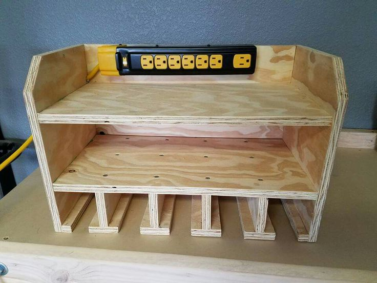 Genius tool hanger and charging station