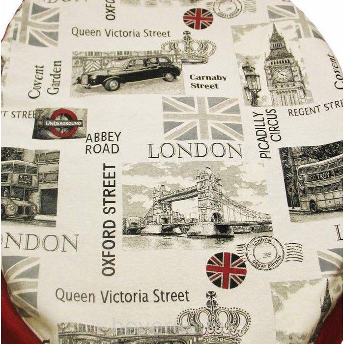 Londoni álom, fánk babzsák szürkével