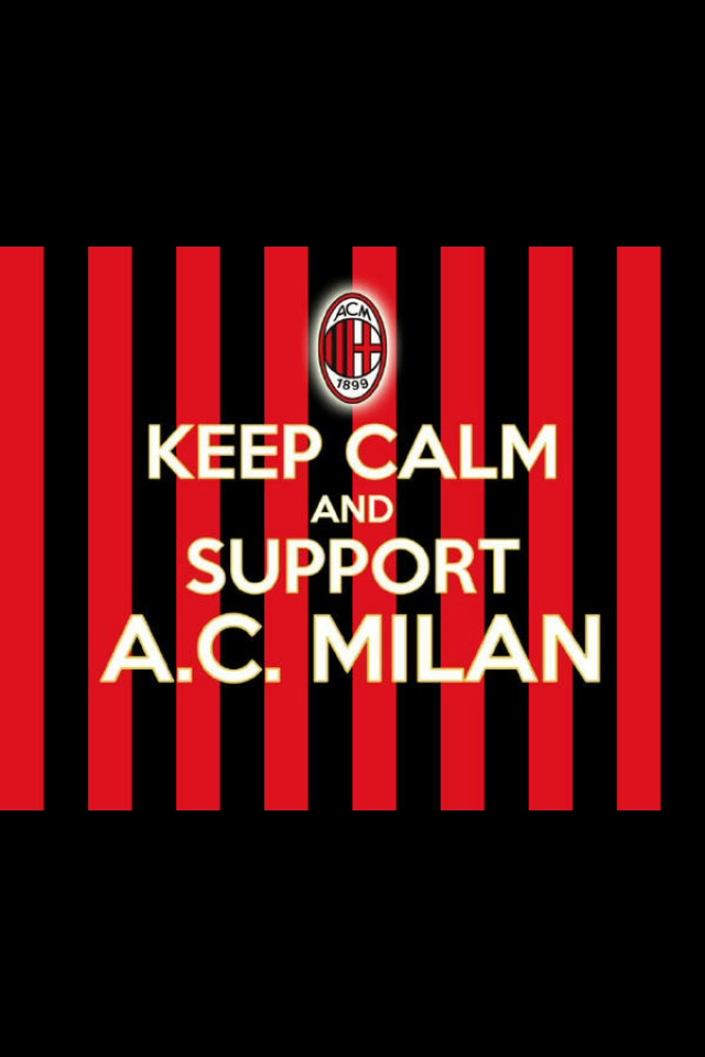 support for AC MILAN !!!