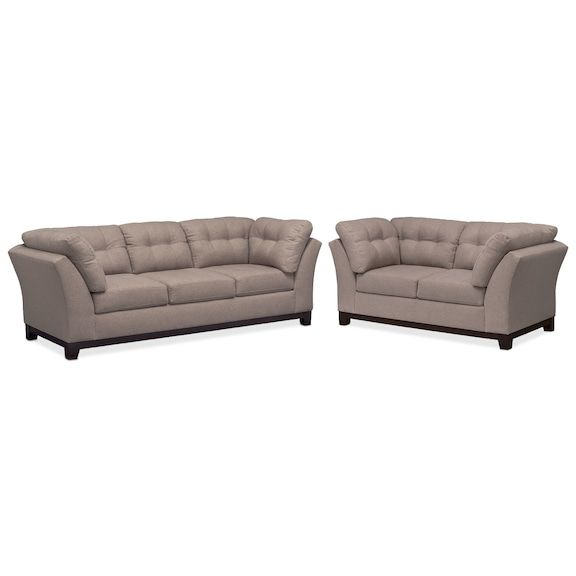 Sebring Sofa And Loveseat Set With