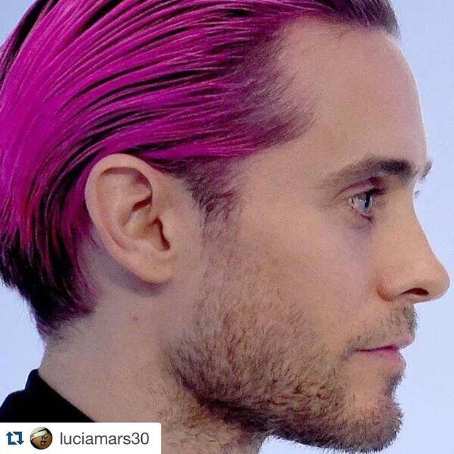 """Magenta hair stubble #Goofball #JaredLeto #Repost @luciamars30 with @repostapp. ・・・ #WJSInnovators #JaredLeto #elfo #rosa #unicorno e #zuccherofilato"" Photo taken by @vampirekiss12 on Instagram, pinned via the InstaPin iOS App! http://www.instapinapp.com (11/05/2015)"