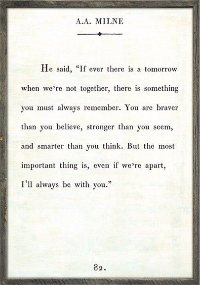 The 25+ best A a milne quotes ideas on Pinterest Winnie the poo - purchase quotation