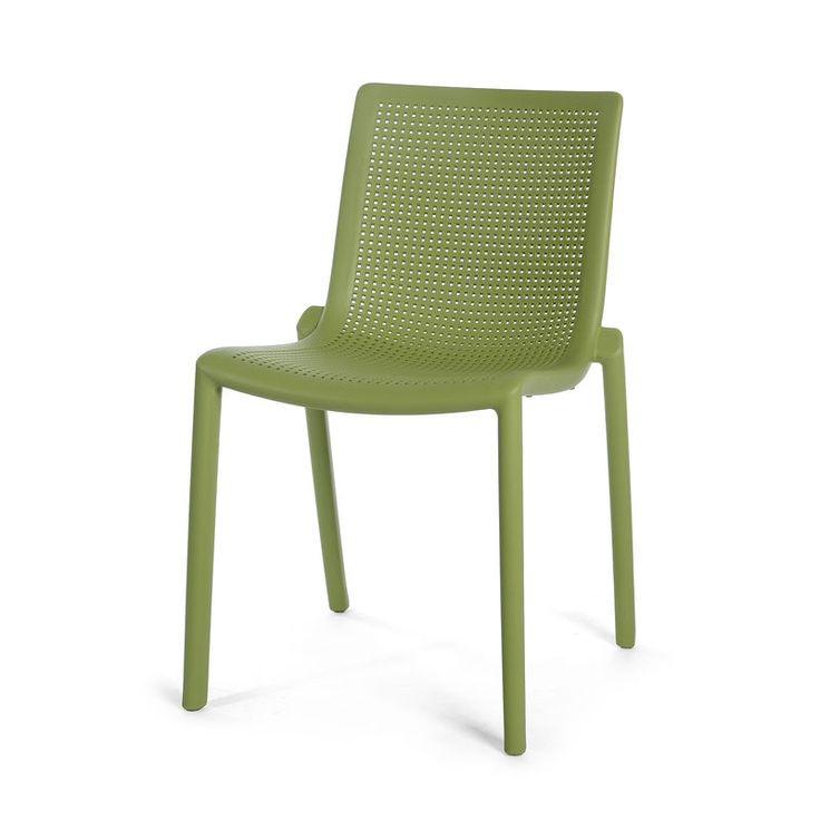 Fabulous Stuhl Kunststoff olivgr n ca H cm