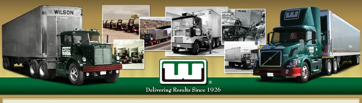 Wilson Trucking Corporation - Home Page