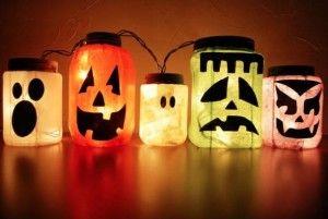 Recycling Trash Into Halloween Decorating Treasures - Jenna's Costume Blog