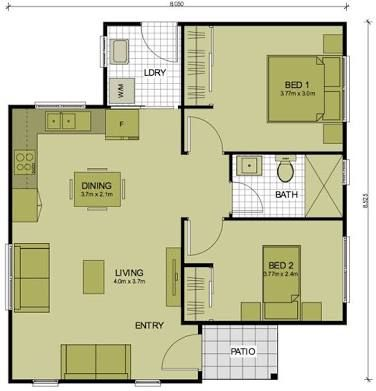 41 best granny pod images on pinterest granny pod for Granny pods floor plans