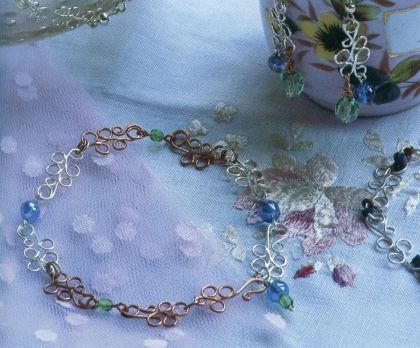 bubbles with beads bracelet tutorial