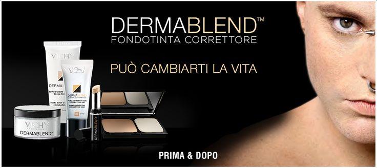 VICHY DERMABLEND fondotinta fantastico usato pre le imperfezioni della pelle dai miglior make-up artist.