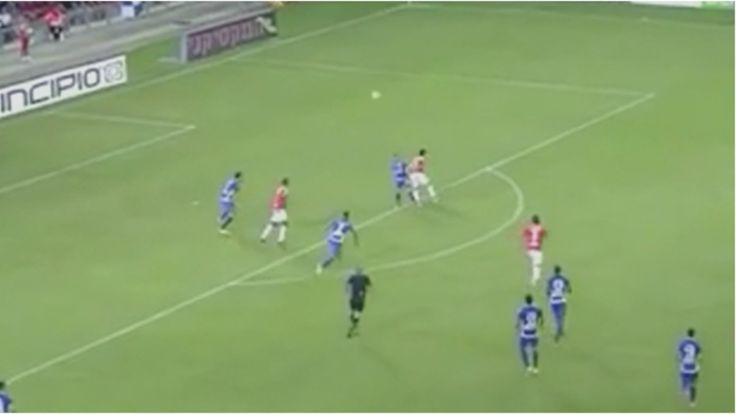 Michael Ohana scored a #goal of the month contender after setting himself up with an audacious flick in the Israeli Premier League. #PremierLeague #MichaelOhana #Israel #HapoelBeerSheva #soccer