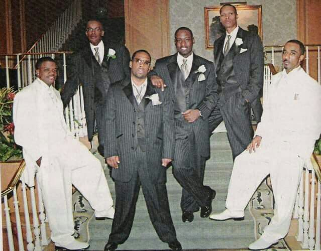 The boys at Ralph & Ricky's wedding