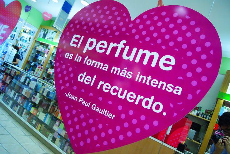 """""""El #Perfume es la forma más intensa del recuerdo""""-#JeanPaulGaultier #MishkaPerfumería #InLove #Frases #Quotes www.mishka.mx"""