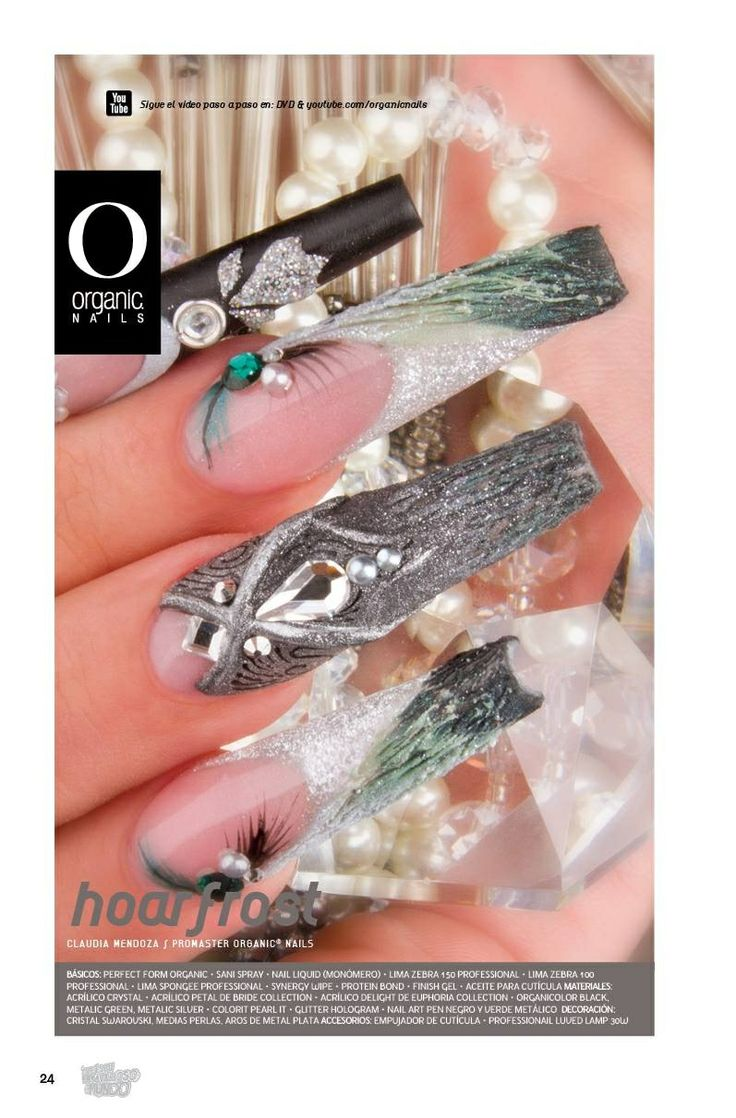 71 best organic nails images on pinterest organic nails claudia mendoza promaster organic nails prinsesfo Choice Image