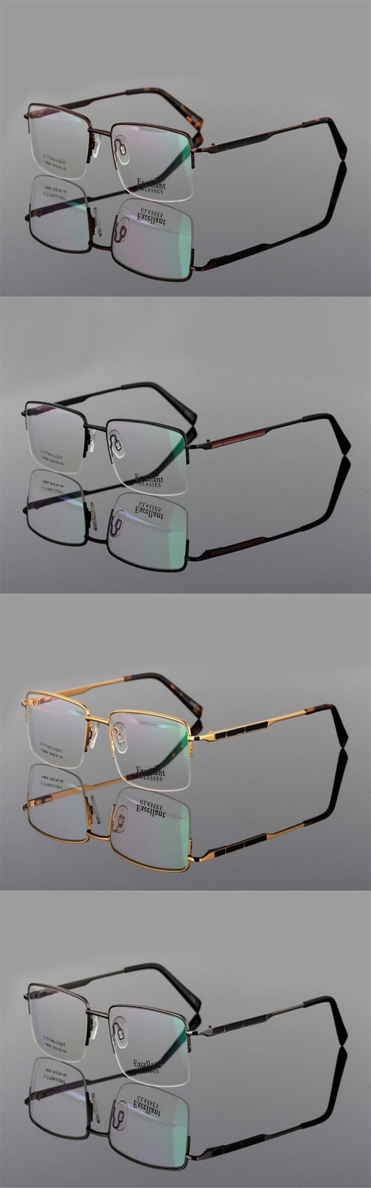 DOWER ME Multi-focal Progressive Lens Men Business Design Half Rim Alloy Presbyopia Reading Eyeglasses Optical Eyewear ZM8004