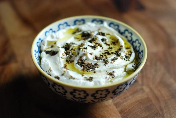 Homemade Labneh (yogurt cheese commonly served in the Middle East) recipe by Rivka Friedman (Not Derby Pie blogger)