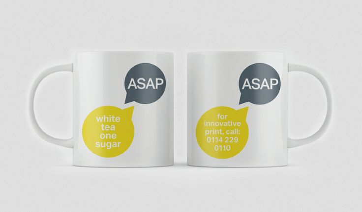 ASAP Digital, Sheffield, Mugs