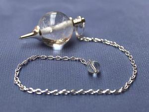 Clear Quartz Ball Pendulum
