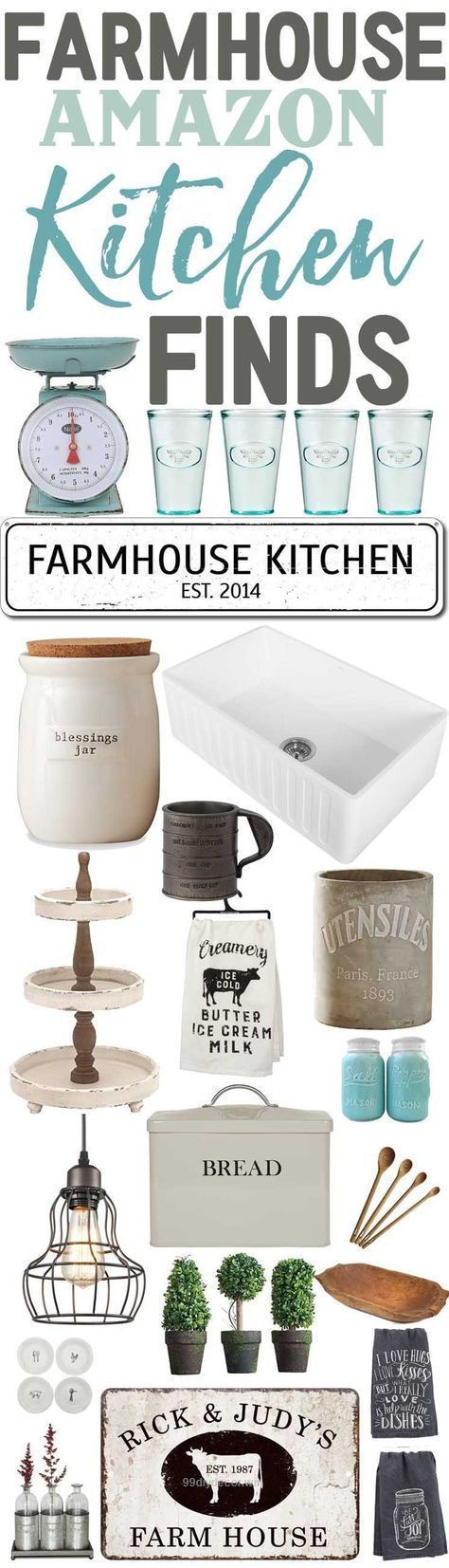 Farmhouse Kitchen Finds From AmazonAffordable Farmhouse
