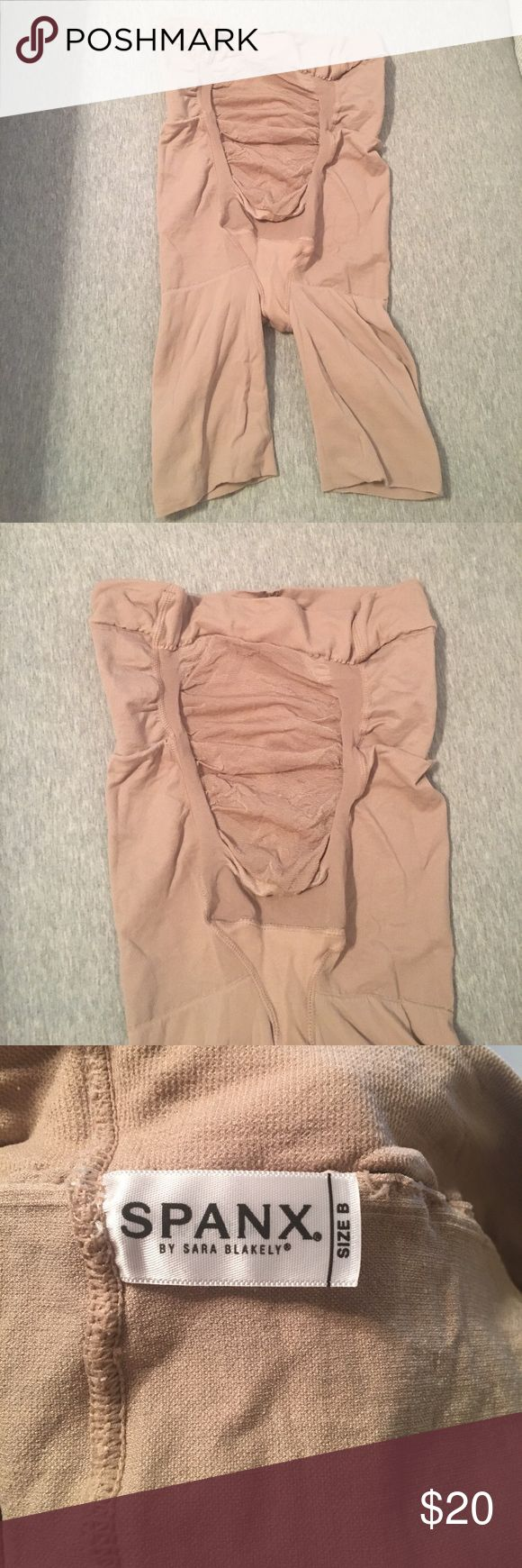 🤰Maternity Spanx MAMA shorts Nude Size B Worn once. Great condition Spanx. Great under bodycon dresses. Super comfortable due to the stretchy belly layer. Size B.   These babies grow with you, so choose your pre-pregnancy size!  Support Level Smooth: A Little Hug  Soft yarns stretch with your growing belly Provides lower back support Comfortably shapes the rear and thighs Body-shaping control that's comfy and flattering Wear as underwear to eliminate VPL (Visible Panty Lines) Perfect to…