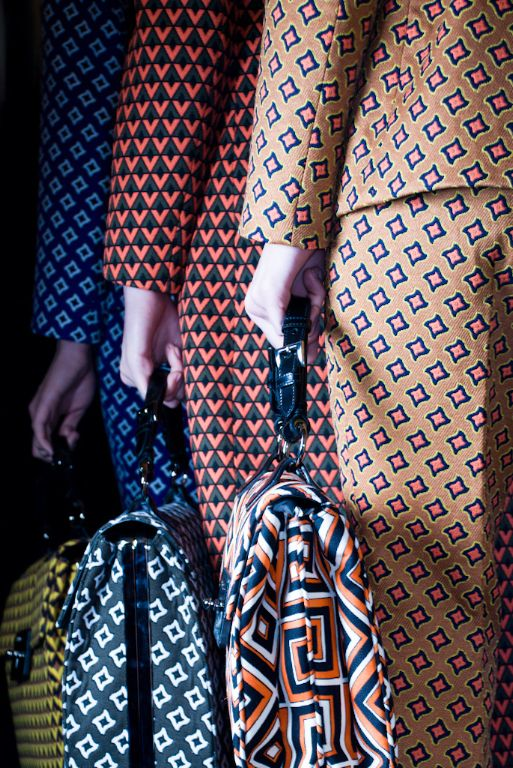 Printed trouser suits