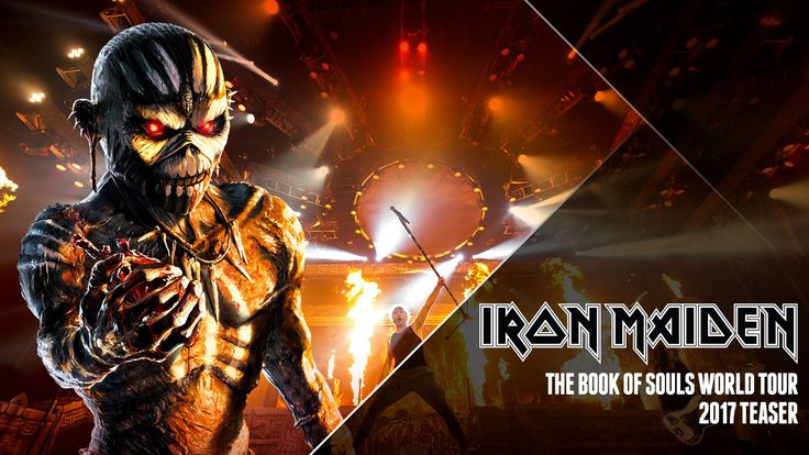 Iron Maiden - 2017 Teaser Ad  Totally Stoked! Can't wait to see them! I'll buy the tickets Kev!