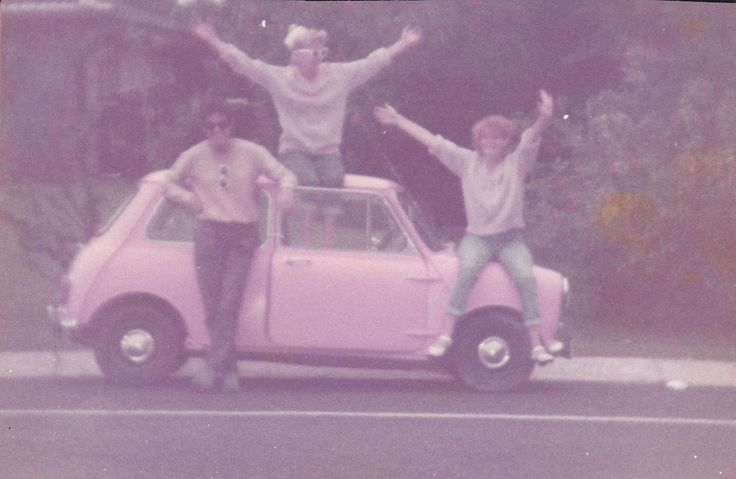 Good old days my Pink Mini.