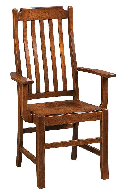 cottage arm chair solid hardwood chairs and benches oak maple cherry