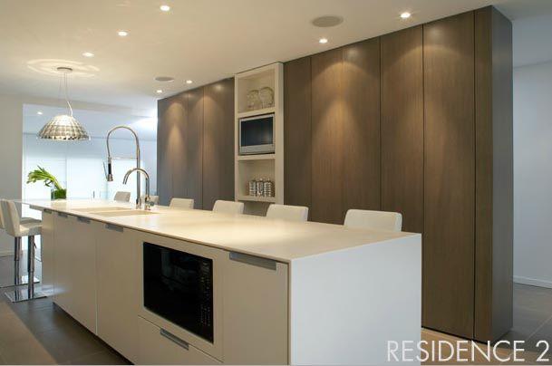 biała kuchnia biało drewniana kuchnia, white kitchen, wood   -> Kuchnia Grafitowo Drewniana