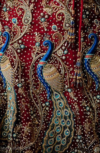 India - Peacock Embroidery