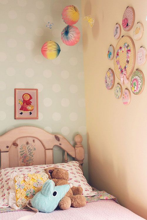 Heart Handmade UK: Pastel Pretties | Perfect Childrens Bedroom from Itty Bitty Birdy