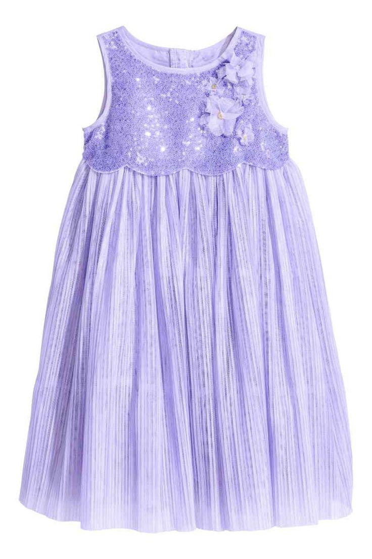 Tulen jurk met pailletten | H&M