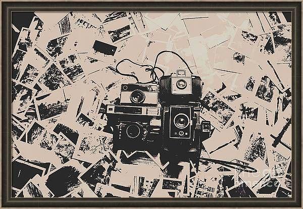 Film Cameras Framed Print Art Gallery Wall Photography Wall Photography Wall Art