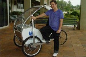 Estudante da UNIJUÍ cria protótipo de veículo elétrico