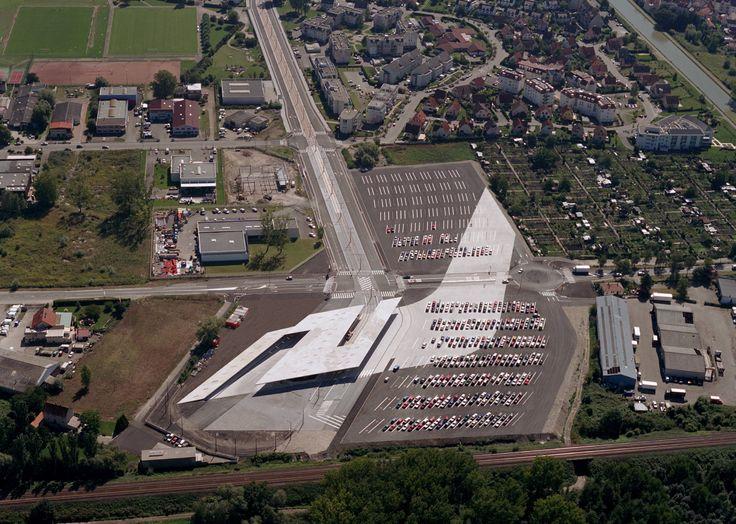 hoenheim nord terminus and car park strasbourg france zaha hadid architects daniel libeskind. Black Bedroom Furniture Sets. Home Design Ideas