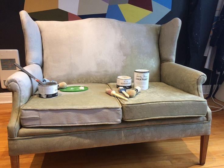 27 best Chalk Paint ™ du0027Annie Sloan Atelier images on Pinterest - comment peindre une chaise