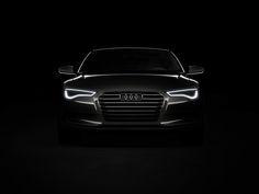 black | ... Audi Sportback Concept - Front Lights Black 1
