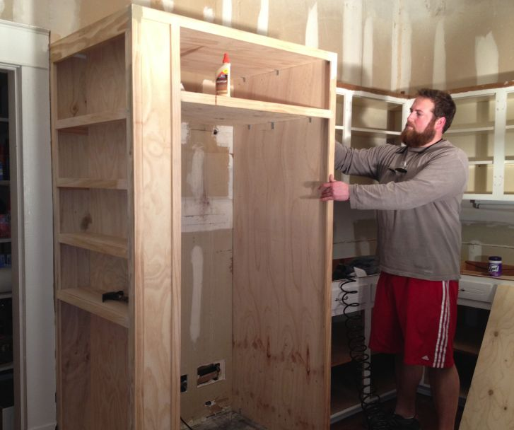 Kitchen Cabinets Refrigerator Surround: Best 25+ Refrigerator Cabinet Ideas On Pinterest