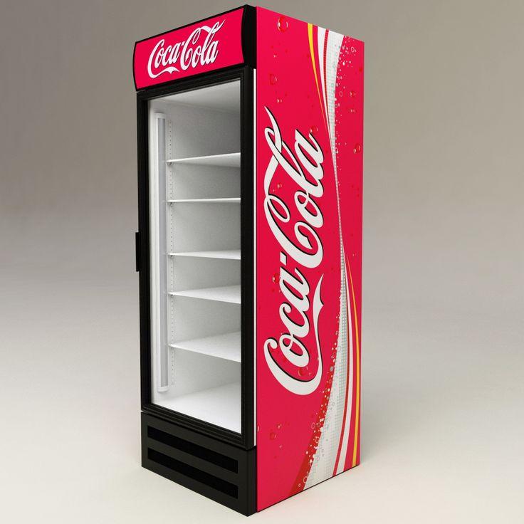 frigorifero coca cola modello 3d bar cafe 39 e ristoranti. Black Bedroom Furniture Sets. Home Design Ideas