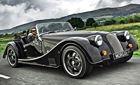 The new Plus 8 is capable of 0-60mph in 4.4 seconds and, according to the brochure, the most comfortable Morgan ever