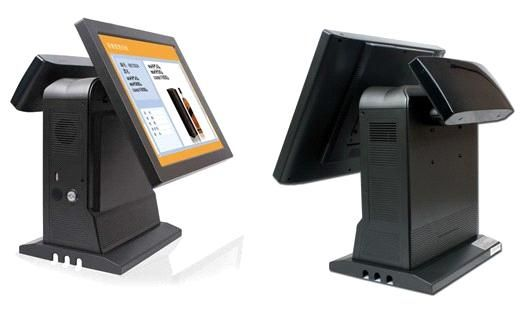 "New Design 15"" Touch Screen POS Terminal for Banking, ATM, POS Cash Register Application (AIO-1580) - China all in one computer"
