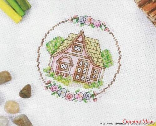 Милый дом... (может кому пригодится схема) - Вышивка и все о ней - Страна Мам