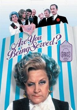 completely normal childhood watching keeping up appearances and are you being served? thanks grandma!