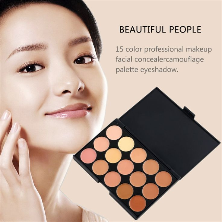 Foundation Highlighter For Face Professional 15 Concealer Camouflage Foundation Makeup Palatte concealer palette maquiagem #>=#>=#>=#>=#> Click on the pin to check out discount price, color, size, shipping, etc. Save and like it!