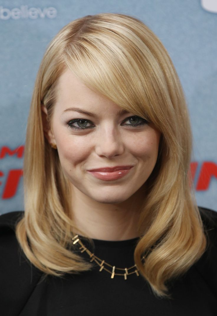 Flattering Celebrity Hairstyles for Round Faces  My Style  Thin hair haircuts Round face