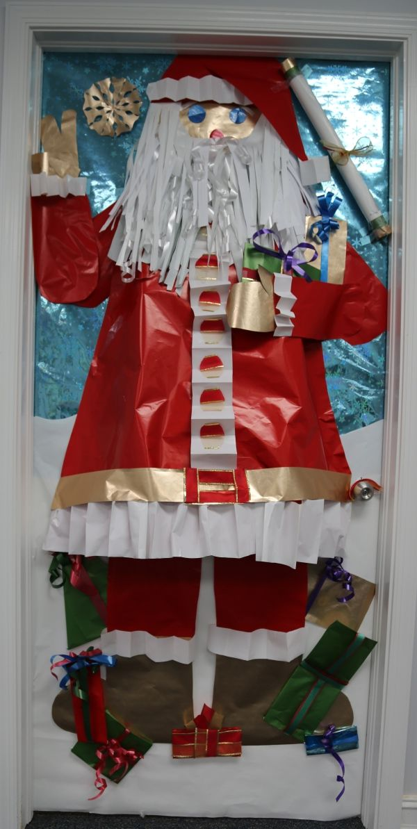 christmas door decorations for office. holiday door decoration contest 4th place christmas decorations for office o