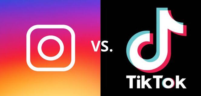 Instagram Vs Tiktok The Battle Between Social Media Platforms Social Media Platforms Social Media Social Media Site