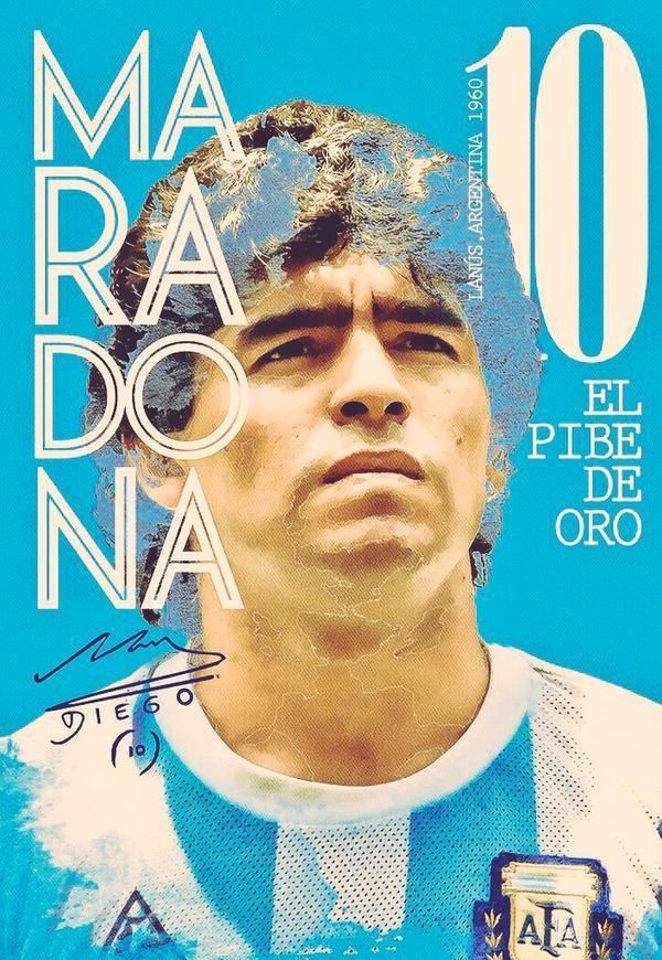 Diego Maradona Of Argentina Wallpaper Diego Maradona Futbol Argentino Poster De Futbol