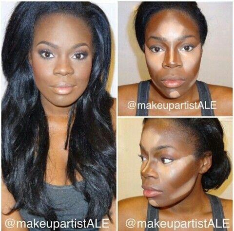 Contorno para peles negras